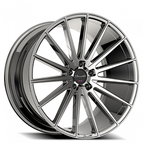 "22"" Staggered Giovanna-Gianelle Wheels Verdi Chrome Rims"