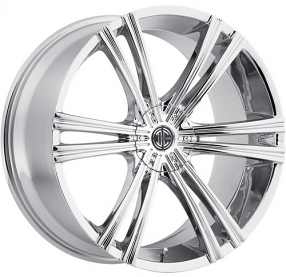 """20"""" Staggered 2Crave Wheels No.28 Chrome Rims"""
