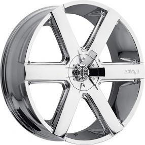 """24"""" 2Crave Wheels No.31 Chrome Rims"""