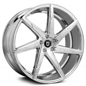 "20x8.5"" Lexani Wheels CSS-7 Chrome Rims"