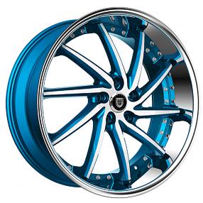 "26"" Lexani Wheels Artemis Custom Color Rims"