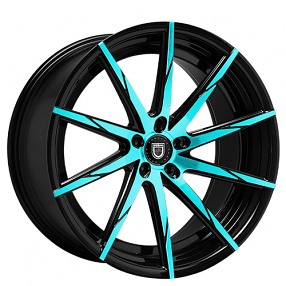 "22"" Staggered Lexani Wheels CSS-15 Custom Color Rims"