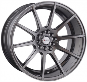 "18"" F1R Wheels F17 Hyper Black Rims"