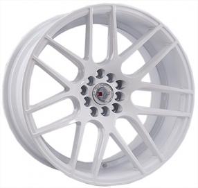 "18"" F1R Wheels F18 White Rims"