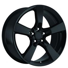 "22"" 2010 Camaro Wheels Gloss Black OEM Replica Rims"