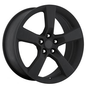 "22"" 2010 Camaro Wheels Satin Black OEM Replica Rims"