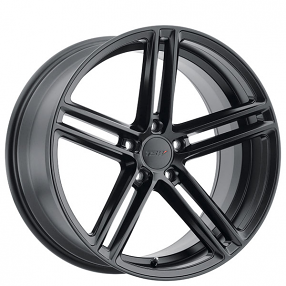 "20"" Staggered TSW Wheels Chapelle Matte Black Rims"