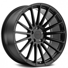 "20"" Staggered TSW Wheels Luco Gloss Black Rims"