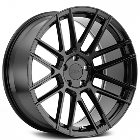"22"" Staggered TSW Wheels Mosport Gloss Black Rims"