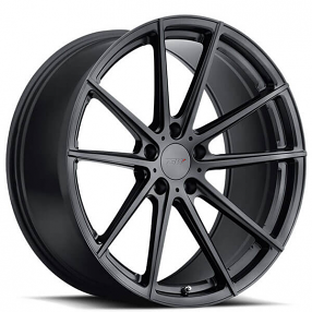"18"" Staggered TSW Wheels Bathurst Gloss Gunmetal Rotary Forged Rims"
