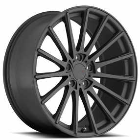 "20"" Staggered TSW Wheels Chicane Matte Gunmetal Rims"