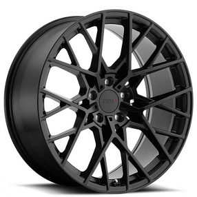 "20"" Staggered TSW Wheels Sebring Matte Black Rims"