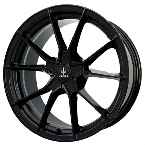 """18"""" Verde Wheels V18 Verve Gloss Black Rims"""