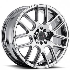 "16"" Vision Wheels 426 Cross Chrome Rims"