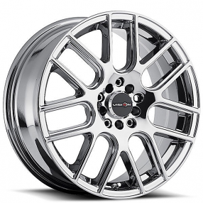 "15"" Vision Wheels 426 Cross Chrome Rims"