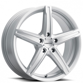 "16"" Vision Wheels 469 Boost Silver Rims"
