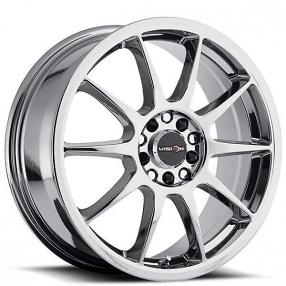 """17"""" Vision Wheels 425 Bane Chrome Rims"""