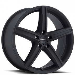 "16"" Vision Wheels 469 Boost Satin Black Rims"