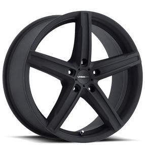 "17"" Vision Wheels 469 Boost Satin Black Rims"