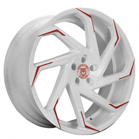 "24"" Lexani Wheels Cyclone Custom Color Rims"