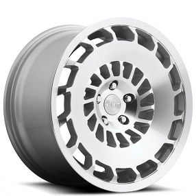 """19"""" Staggered Rotiform Wheels R135 CCV Silver Machined Rims"""