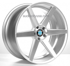 22 inch Z84 Wheels Rims Silver Staggered for BMW/Mercedes