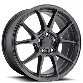"18"" Niche Wheels M174 Messina Satin Black Rims"