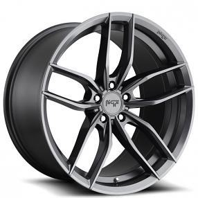 "20"" Staggered Niche Wheels M204 Vosso Gloss Anthracite Rims"