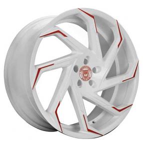 "26"" Lexani Wheels Cyclone Custom Color Rims"