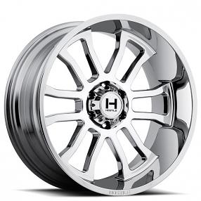 """20"""" Hostile Wheels Gauntlet Chrome Rims"""