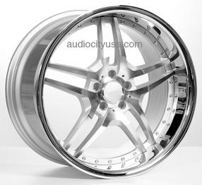 "20"" EMR Wheels EMR2 Silver Machined Rims"