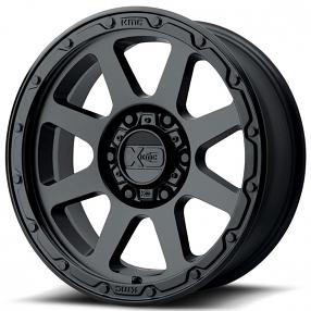 "18"" XD Wheels XD134 Addict 2 Matte Black Off-Road Rims"