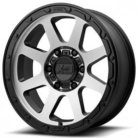 "18"" XD Wheels XD134 Addict 2 Matte Black Machined Off-Road Rims"