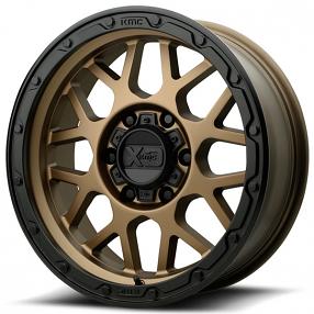 "20"" XD Wheels XD135 Grenade OR Matte Bronze with Matte Black Lip Off-Road Rims"