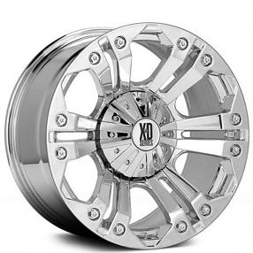 """18"""" XD Wheels XD778 Monster Chrome Off-Road Rims"""