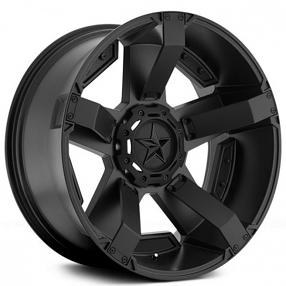 "17"" XD Wheels XD811 Rockstar 2 Satin Black with Customize Option Off-Road Rims"