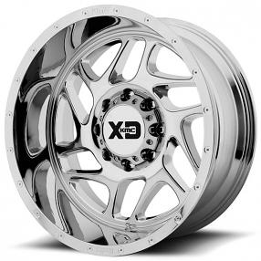 "20"" XD Wheels XD836 Fury Chrome Off-Road Rims"