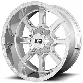 "20"" XD Wheels XD838 Mammoth Chrome Off-Road Rims"