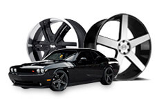 300C CHALLENGER WHEELS/
